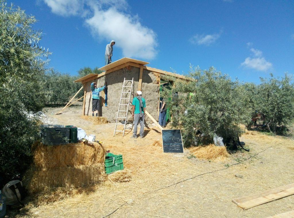 Casa de paja. Bioconstrucción.