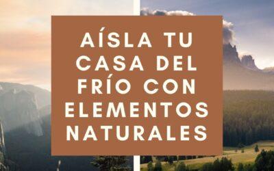 AISLANTES TÉRMICOS NATURALES EN EL PORTAL DE BELÉN